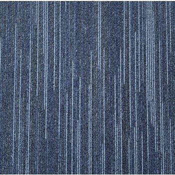 Zetex Lines Blue - Cushion Back